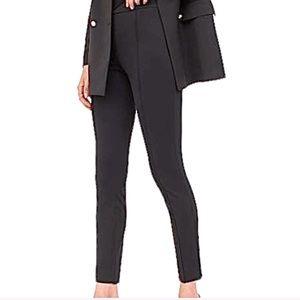 H&M Pleated Legging Pants Black Size Medium